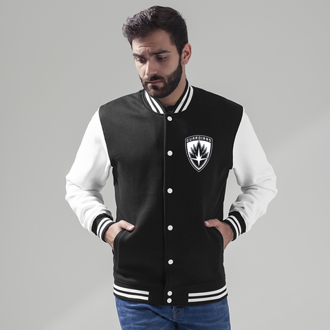 Guardians of the Galaxy 2 inspired Black/White Varsity Jacket