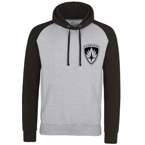 Guardians of the Galaxy 2 Inspired Logo Black/Grey Hoodie