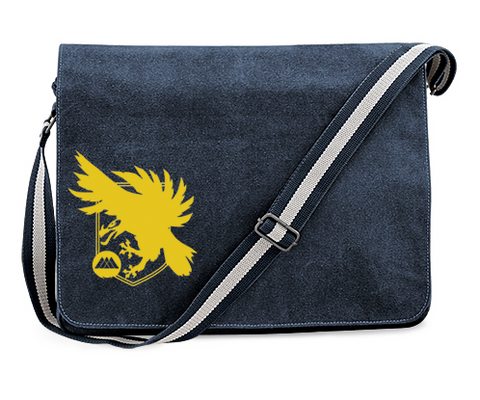 Destiny 2 Warlock Eagle Logo Inspired Vintage Blue Canvas Despatch Bag