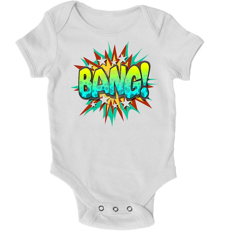 Baby Grows - Bang Superhero Baby Grow