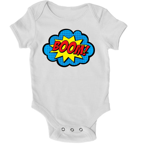 Baby Grows - Boom Superhero Baby Grow