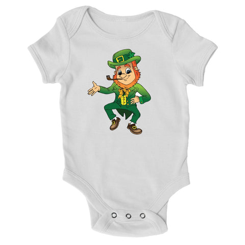 Baby Grows - Jolly Leprechaun - St Patricks Day Baby Grow
