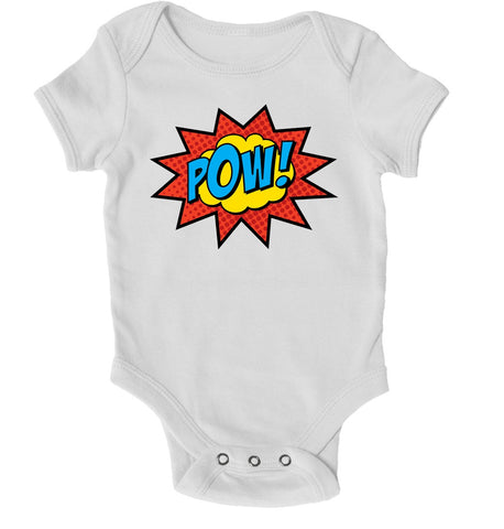 Baby Grows - Pow! Superhero Baby Grow