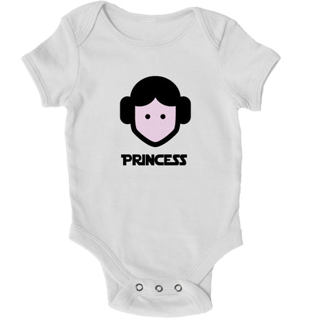 Baby Grows - Princess Sci-Fi Movie Baby Grow