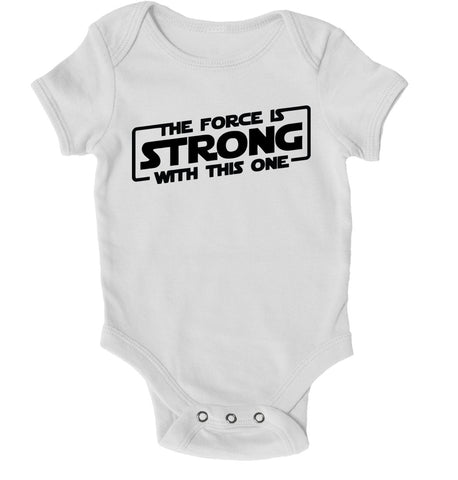 Baby Grows - The Force Is Strong With This One Baby Grow