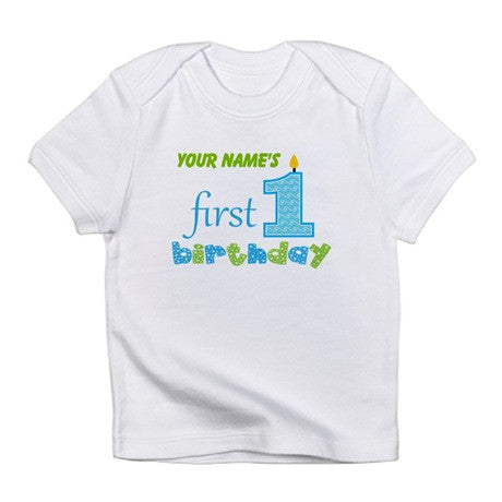 Baby Tees - Personalised 1st Birthday Infant T-Shirt