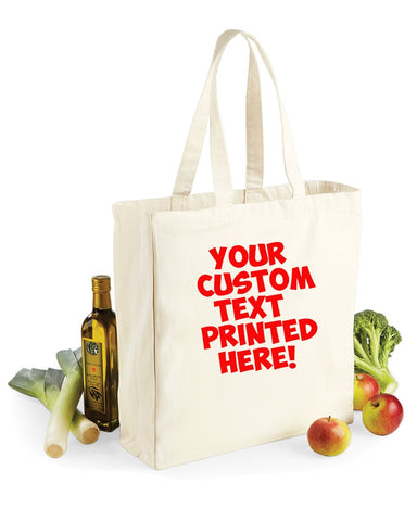 Bags - Custom Personalised Printed - Bag For Life