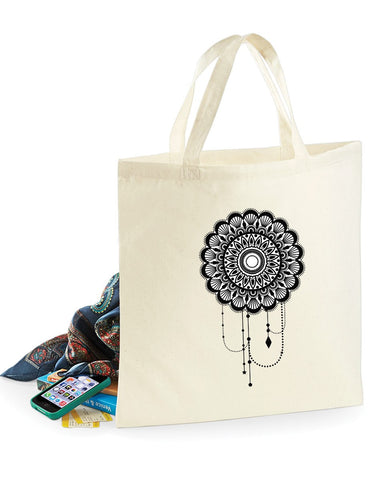 Bags - Mandala Dream Catcher - Bag For Life