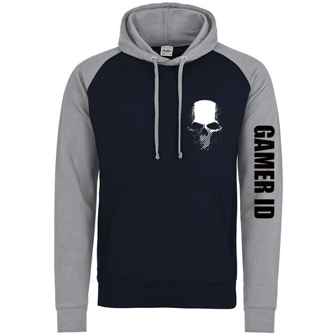 Hoodies - Ghost Recon Wildland's Inspired Logo Navy/Grey Hoodie