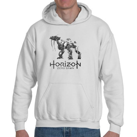 Hoodies - Horizon Zero Dawn Machines Inspired Personalised Unisex Or Kids Hoodie - Gamer ID Printed On Back