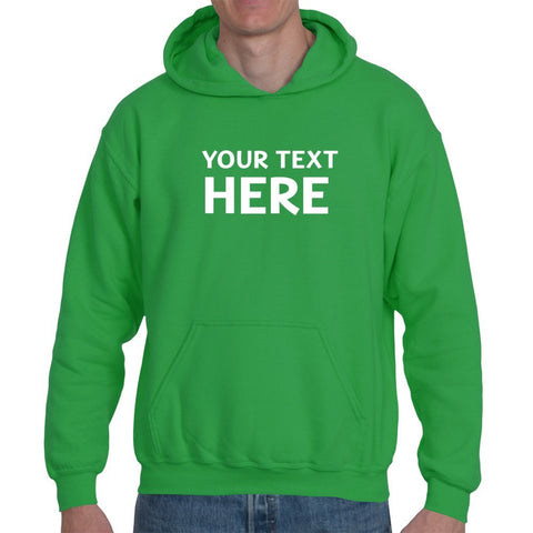 Hoodies - Personalised Custom Text Printed Hoodie