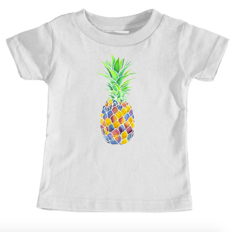Kids Tees - Pineapple - Kids T-Shirt Ages 1/2 - 12/14 Years Old