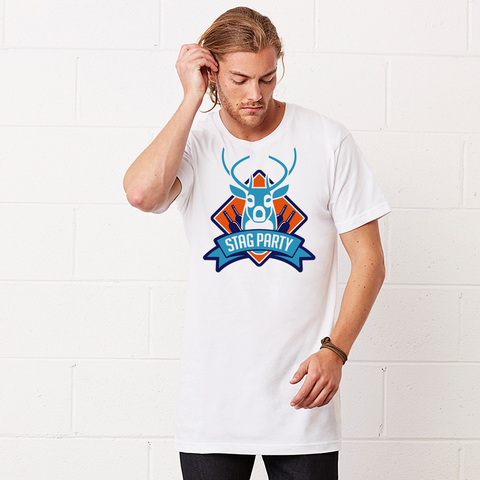 Stag Party - Long Body Urban T-Shirt