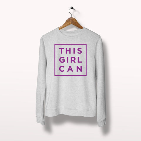 Sweaters - This Girl Can Fashion Sweatshirt