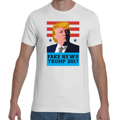 T-Shirts - Donald Trump - FAKE NEWS T-Shirt