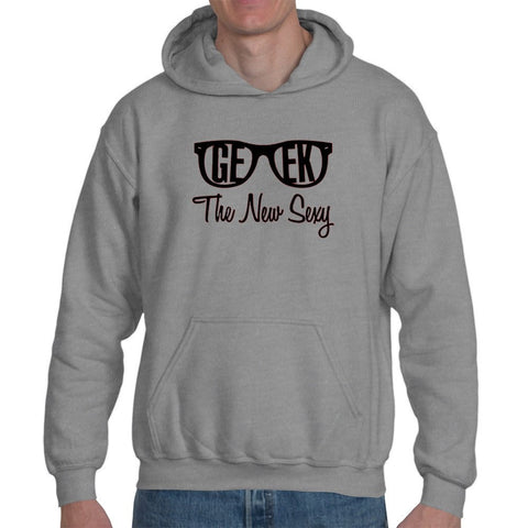 T-Shirts - Geek Is The New Sexy Hoodie