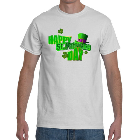 T-Shirts - Happy St Patricks Day Unisex Or Ladyfit T-Shirt