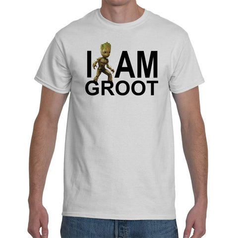 T-Shirts - I Am Groot - Guardians Of The Galaxy 2 Inspired T-Shirt