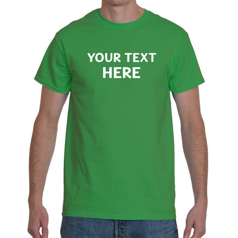 T-Shirts - Personalised Custom Text Logo Printed T-Shirt Stag & Hen Party - Promo Wear
