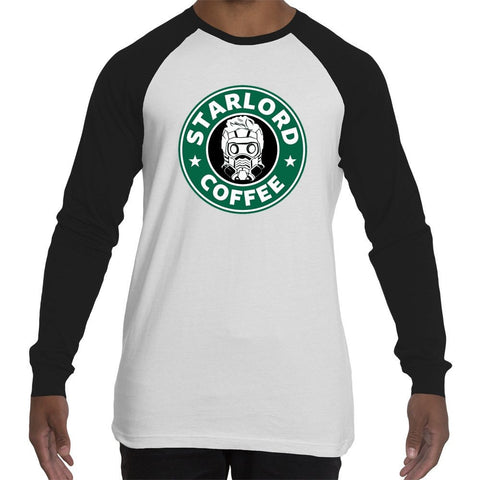 T-Shirts - Starlord Coffee - Guardians Of The Galaxy Inspired Long-sleeve Tee