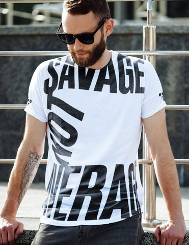 Savage Not Average All Over Print Men's Tee