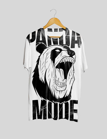 Panda Mode All Over Print Women's Tee