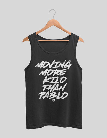 Moving More Kilo Than Pablo Men's Tank