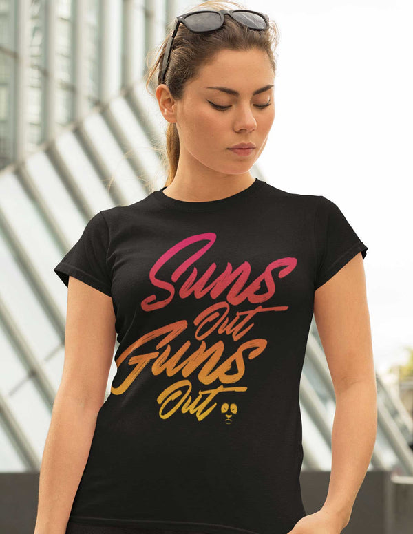 Suns Out Guns Out Women's Tee