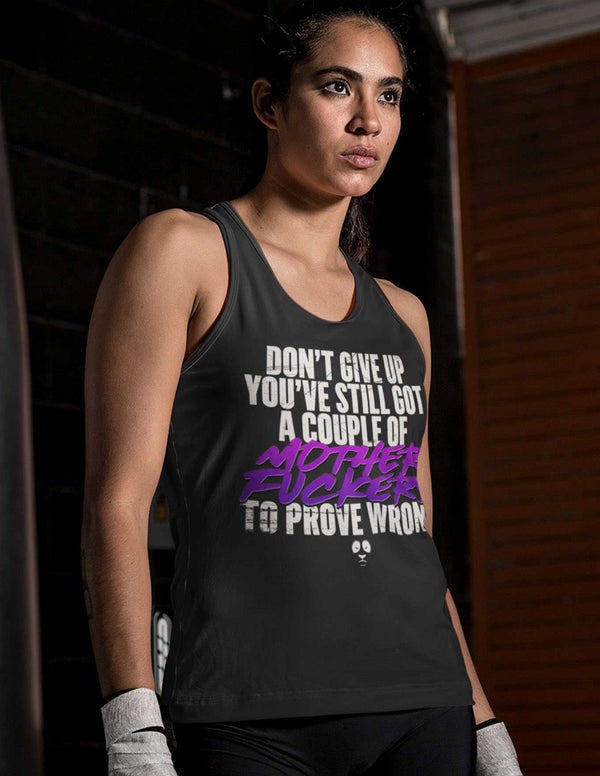 Don't Give Up Women's Vest