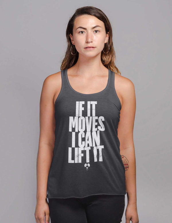 If It Moves I Can Lift It Women's Vest