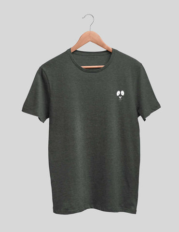 Panda Embroidered Men's Tee