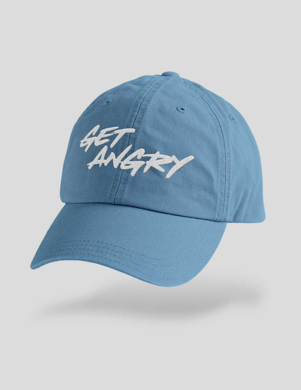 Get Angry Embroidered Cap