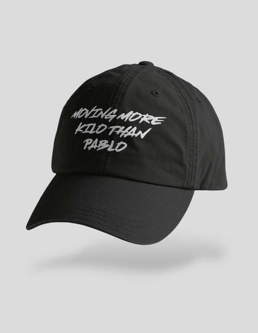Moving More Kilo Than Pablo Embroidered Cap