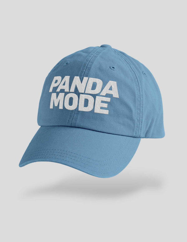 Panda Mode Embroidered Cap