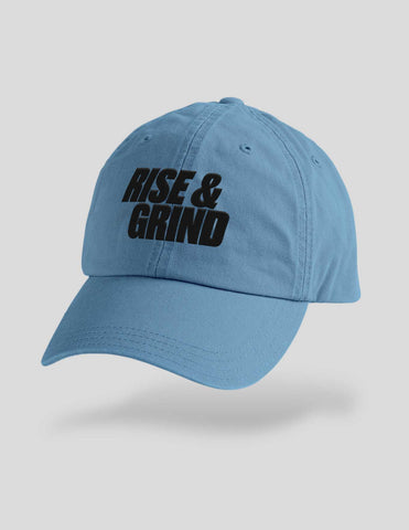 Rise And Grind Embroidered Cap