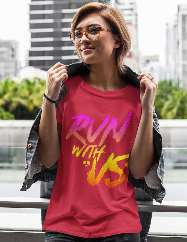 Run With Us Women's Tee