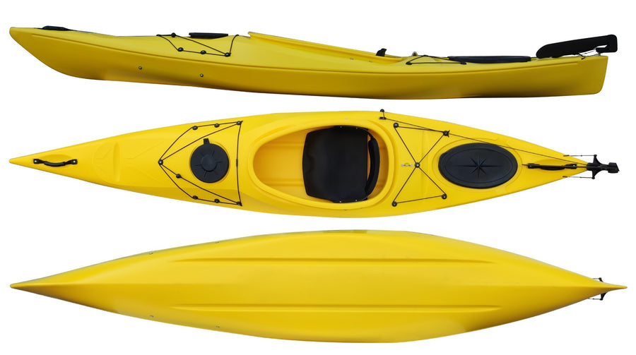 Cambridge Kayak Adventure 350 Touring Kayak Yellow
