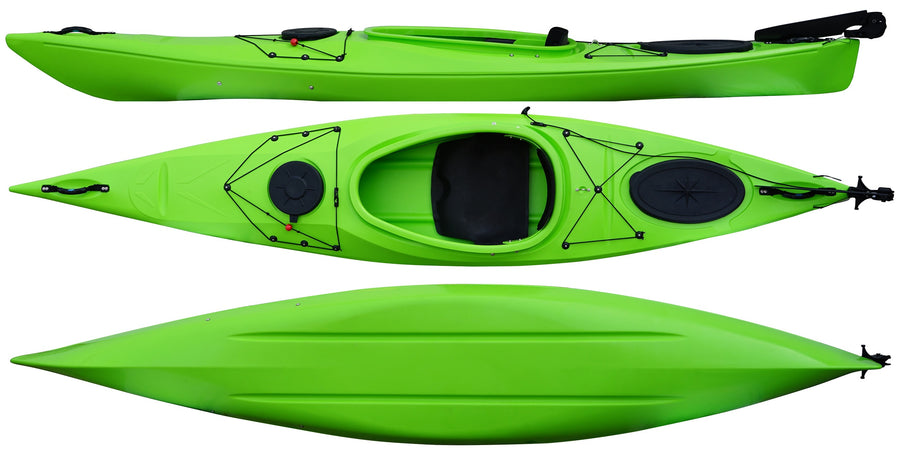 Cambridge Kayak Adventure 350 Touring Kayak Green
