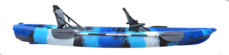 Galactic Double Fishing Kayak With Fishing Chairs
