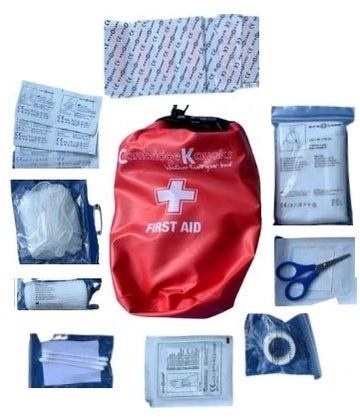 Cambridge Kayak 30 pcs first aid kit dry bag