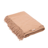 Camel Wool Blanket