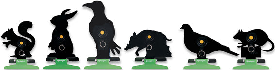 Remington Free Standing Folding Silhouette Knockdown Targets - Various Designs