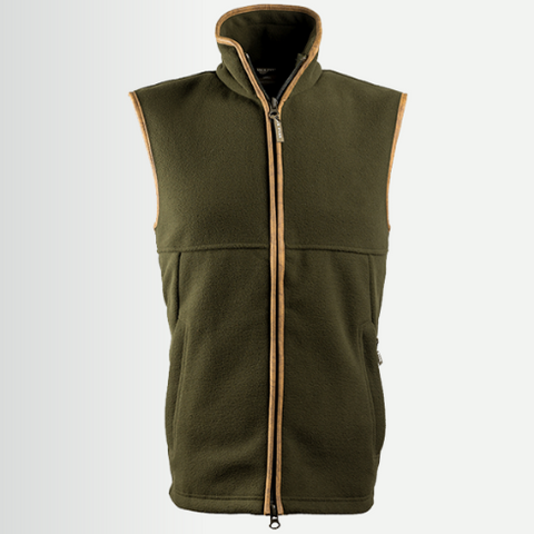Jack Pyke Countryman Fleece Gilet - Dark Olive