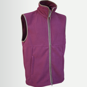 Jack Pyke Ladies Countryman Fleece Gilet - Roselle