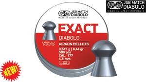 JSB Exact Diabolo .177 Pellets (Tin of 500)