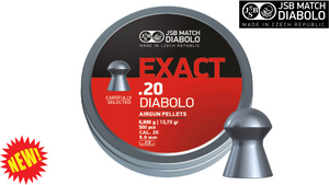 JSB Exact .20 Pellets, Tin of 500