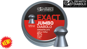 JSB Exact Jumbo .22 Pellets, Tin of 500
