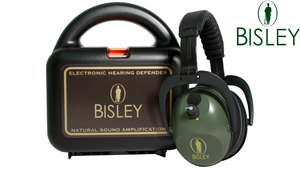 Bisley Active Electronic Ear Defenders (Includes Hard Carry Case)