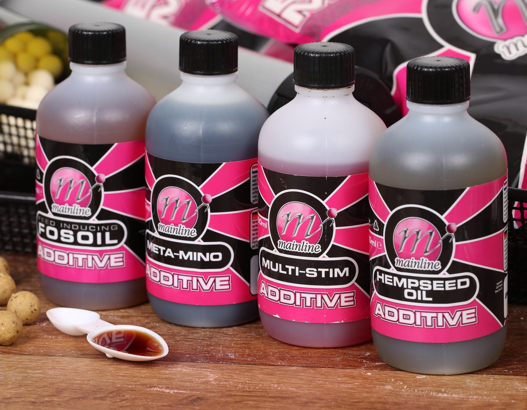 Mainline Additives & Oils