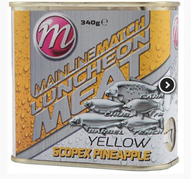 Mainline Match Luncheon Meat - Yellow - Scopex Pineapple